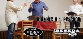 Divadlo v Besedě: Blázinec v 1. poschodí