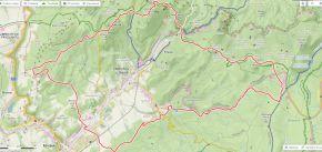 22 km okolo obce