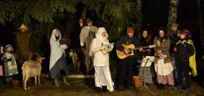 Živý Betlém a zpívání koled