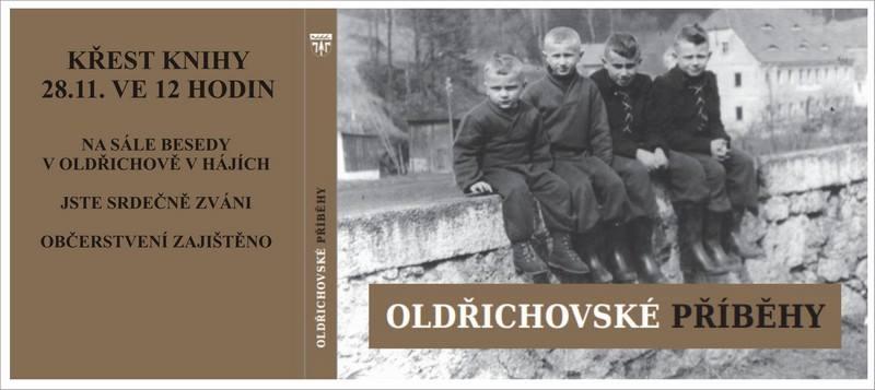 Křest knihy Oldřichovské příběhy