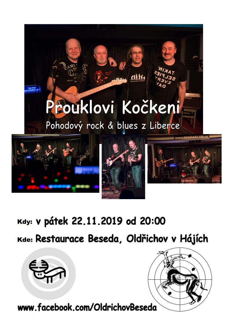 Koncert Prouklovi Kočkeni