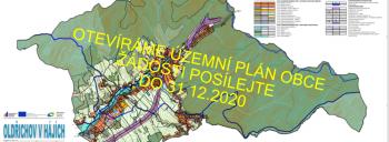 OZNÁMENÍ – podávání žádostí do změny územního plánu