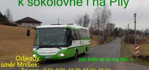 Autobus 72 od 1.12.2020 až k sokolovně i Na Pily