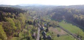 Letecké snímky Oldřichova