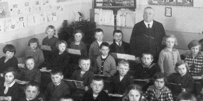 Německá školní kronika od roku 1892