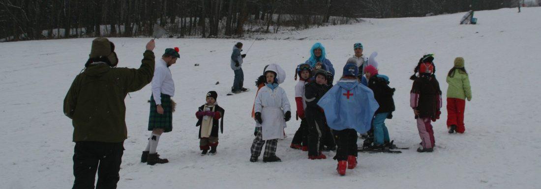Karneval na lyžích 16. února 2013