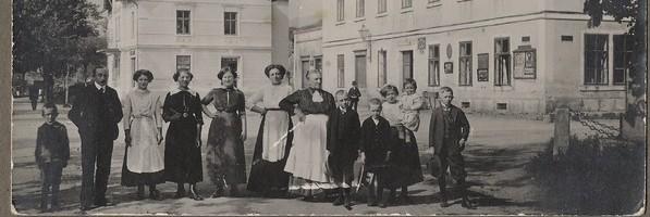 Nové historické fotografie naší obce