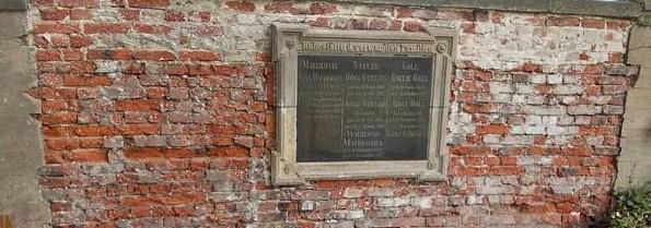 Oprava náhrobku Josefa Matouschka