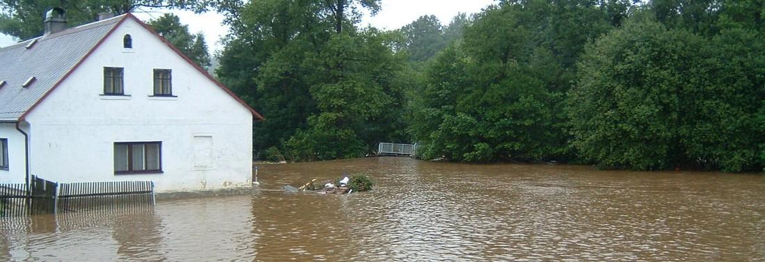 Blesková povodeň srpen 2010