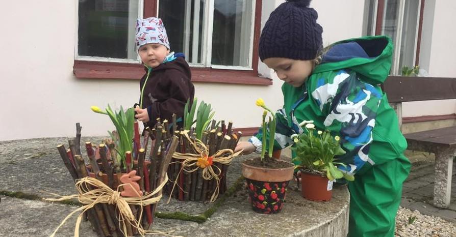 Vítání jara v Klubíku