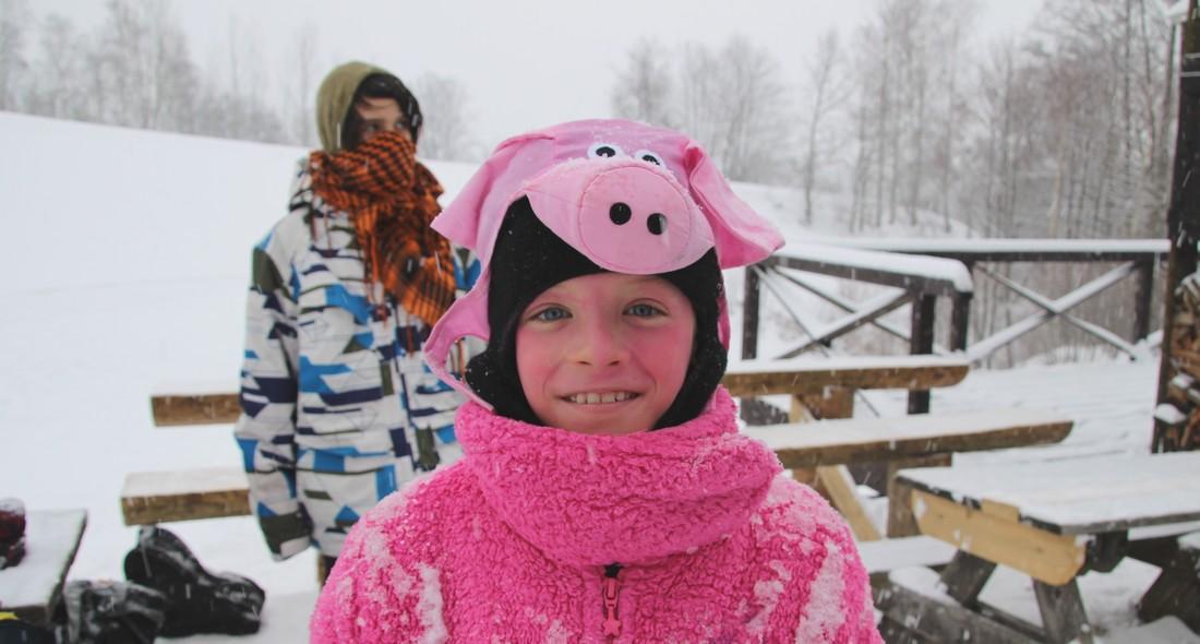 Karneval na lyžích